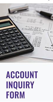 CMI account inquiry form mobile
